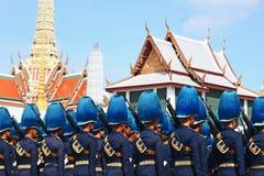 De Motie van Koninklijk Thais Leger royalty-vrije stock foto