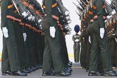 De Motie van Koninklijk Thais Leger royalty-vrije stock fotografie