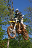De motocross van Yamaha Royalty-vrije Stock Afbeelding