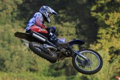 De motocrossconcurrentie De Catalaanse Liga van het Motocrossras Royalty-vrije Stock Foto's