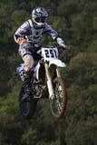 De motocrossconcurrentie De Catalaanse Liga van het Motocrossras Stock Afbeeldingen