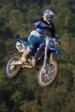 De motocrossconcurrentie De Catalaanse Liga van het Motocrossras Royalty-vrije Stock Afbeelding