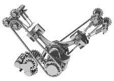 De motor Stock Afbeelding