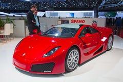 De motor-show 2011 van Genève Stock Afbeelding