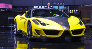 De motor-show 2011 van Genève Royalty-vrije Stock Afbeeldingen