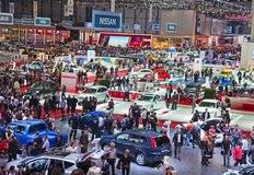 De motor-show 2011 van Genève Stock Afbeeldingen