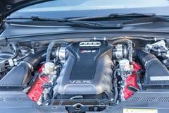 De Motor van Audi V8 Stock Foto
