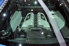 De motor van Audi v10 FSI Stock Foto