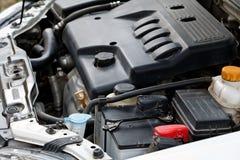 De motor van de auto. Royalty-vrije Stock Afbeeldingen