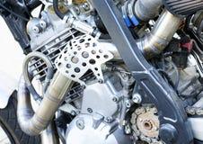 De motor van de bijlfiets stock foto