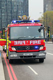 De motor van de brand Stock Afbeelding