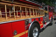 De motor van de brand Stock Afbeeldingen