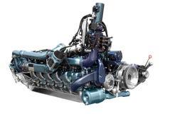 De motor van de bus Royalty-vrije Stock Fotografie