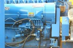 De motor van de compressor stock foto's
