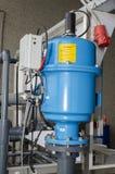 De motor van de fabriekspraal stock afbeeldingen