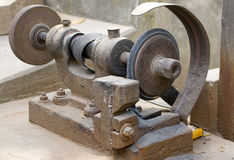 De Motor van de katrol - de Slijper van het Hulpmiddel Stock Fotografie