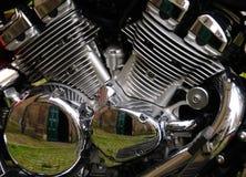 De Motor van de motorfiets Royalty-vrije Stock Foto's
