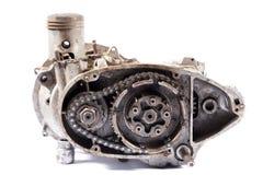 De motor van de motorfiets Stock Fotografie