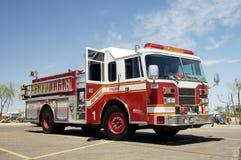 De motor van de paramedicus Stock Foto