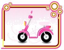 De motor van de pink Royalty-vrije Stock Foto's