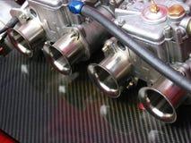 De motor van de raceauto, detail Royalty-vrije Stock Afbeelding