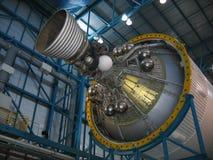 De Motor van de raket stock foto