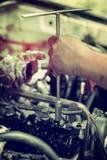 De motor van de reparatiezuiger Royalty-vrije Stock Afbeelding
