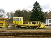 De motor van de spoorweg Stock Foto