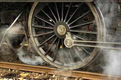 De Motor van de stoom stock afbeelding