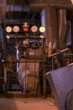 De motor van de stoom Royalty-vrije Stock Foto