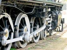 De Motor van de Stoom van het spoor Stock Foto's