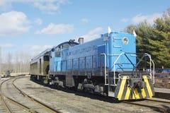 De Motor van de trein stock foto