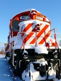 De motor van de trein Royalty-vrije Stock Foto