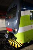 De motor van de trein Stock Fotografie