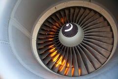 De motor van de turbine stock fotografie
