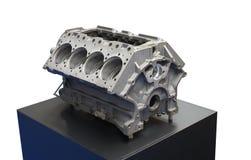 De Motor van de vrachtwagen. Royalty-vrije Stock Afbeelding