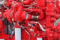 De motor van de vrachtwagen Royalty-vrije Stock Foto