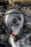 De Motor van de vrachtwagen stock foto