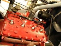 De Motor van de vrachtwagen stock foto's