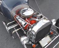De motor van een auto van Hotrod Royalty-vrije Stock Afbeelding