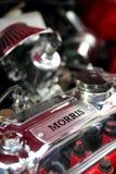 De Motor van een auto van Morris Stock Afbeeldingen