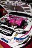 De Motor van een auto van Xtreme Stock Afbeelding