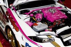 De Motor van een auto van Xtreme Stock Foto's
