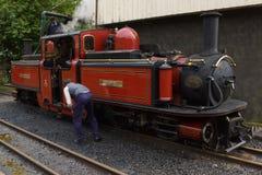 De Motor van de Ffestiniogspoorweg royalty-vrije stock foto