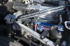 De motor van Ford GT Royalty-vrije Stock Afbeeldingen