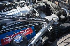 De motor van Ford GT Stock Afbeelding
