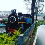 De Motor van het bergspoor Stock Foto