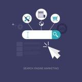 De motor van het onderzoek marketing Royalty-vrije Stock Afbeeldingen