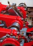 De motor van het schip Stock Afbeelding