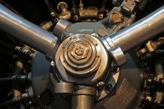 De Motor van het vliegtuig Stock Afbeeldingen